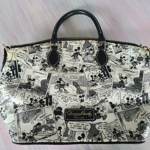 Dooney and Bourke Mickey Comic Tote Purse